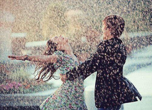 Танцевать под дождём