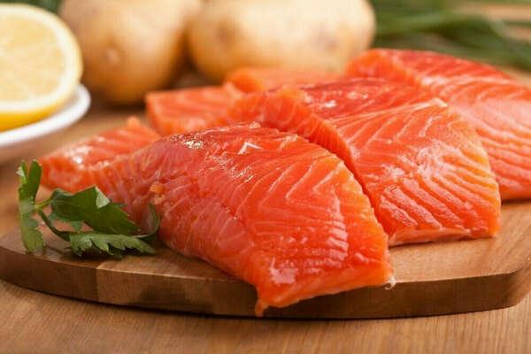 красную рыбу