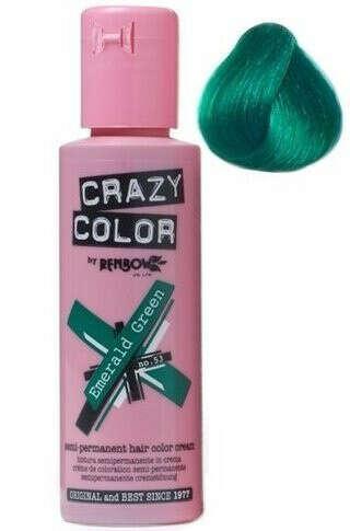 Краску для волос Crazy Color Emerald Green