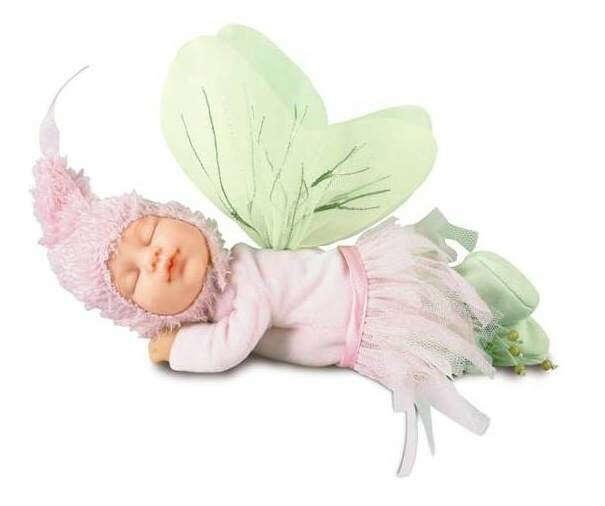 Кукла 'Младенец-фея, спящая', 30 см, Anne Geddes