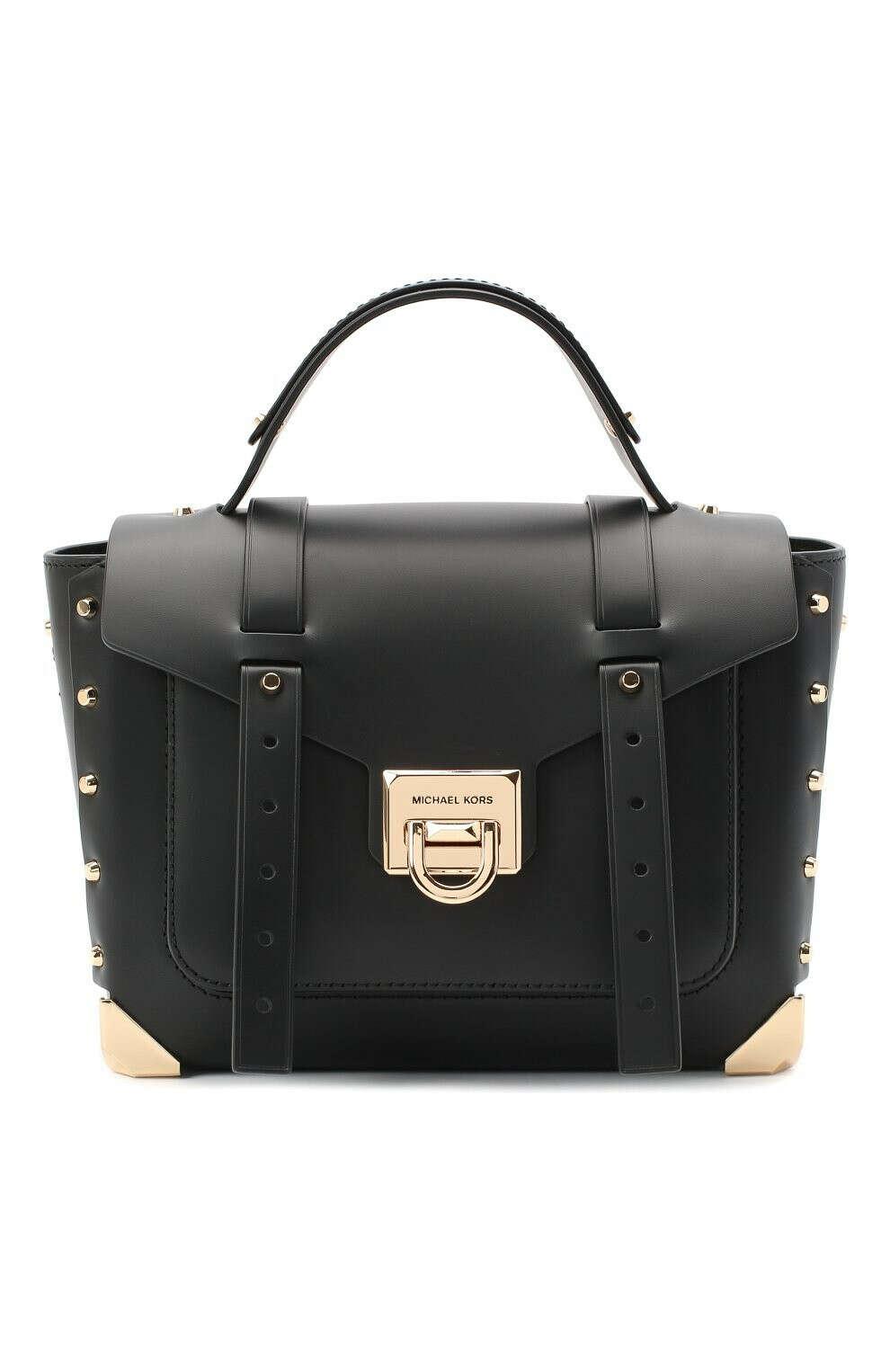 Женская черная сумка manhattan MICHAEL MICHAEL KORS — купить за 36750 руб. в интернет-магазине ЦУМ, арт. 30T9GNCS6L