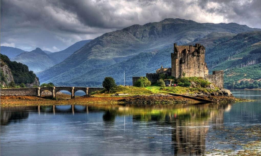 В прекрасную страну Шотландия