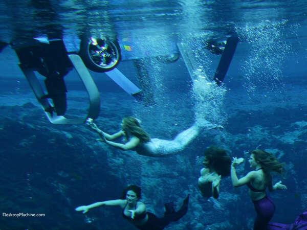 подводный фотосет