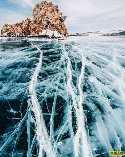 Увидеть замерзший Байкал