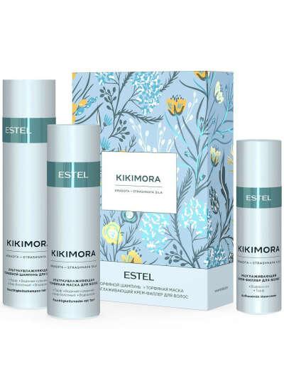 Косметический набор KIKIMORA для увлажнения волос, 250+200+100 мл, ESTEL PROFESSIONAL