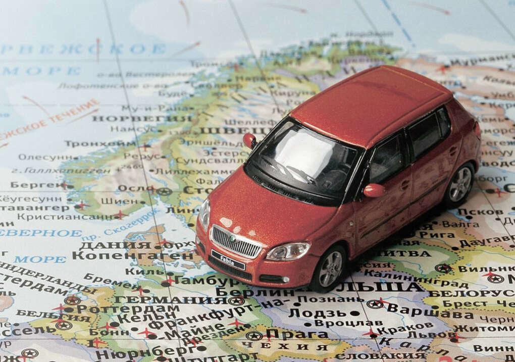 На своей машине в Европу