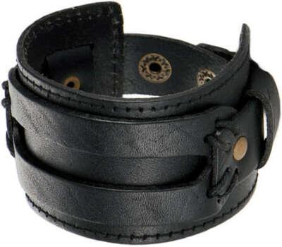 Кожаный браслет на руку Evora 625517-e