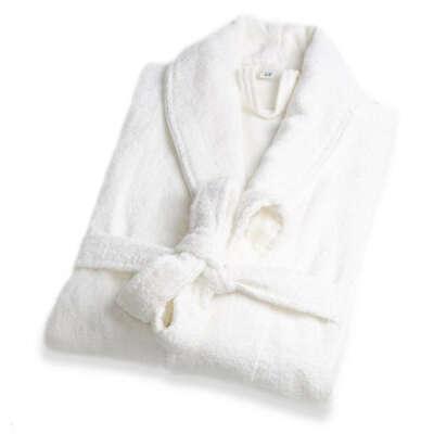 Белые махровые халаты