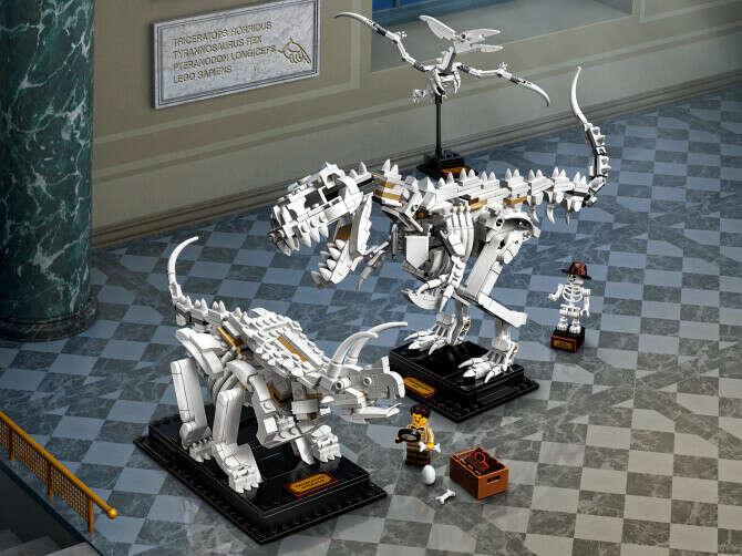 Конструктор Ideas (Айдиас) 21320 Кости динозавра LEGO