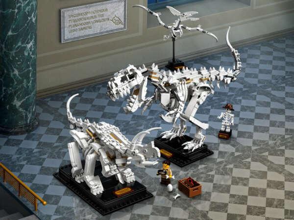 Кости динозавра LEGO (21320)