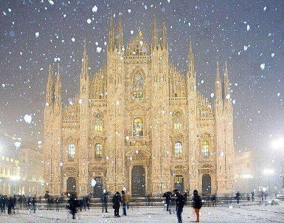 Хочу в Милан, Италия..