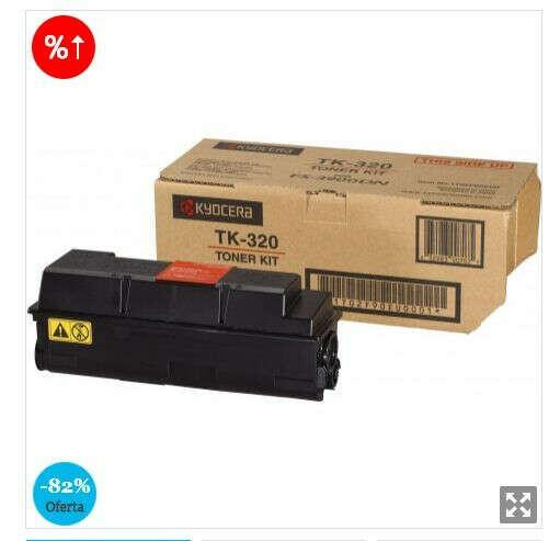 OUTLET Kyocera Laser Toner/TK320 Negro FS3900