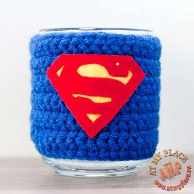 """Кружка в чехле """"Супермен"""""""