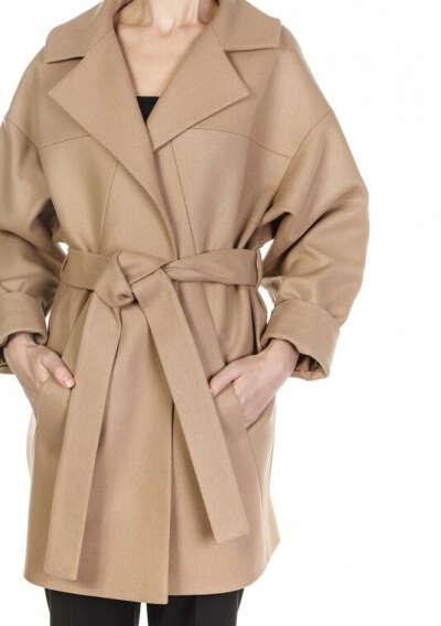 Объемное пальто цвета Graphite. Модель Liza / Пальто и жакеты / Каталог / osome2some