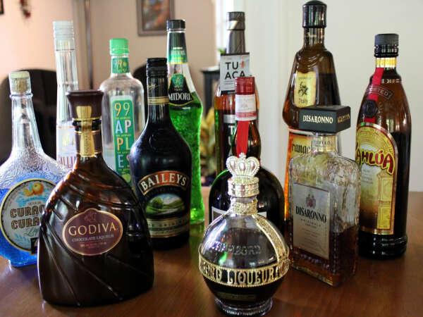 Хороший вкусный алкоголь