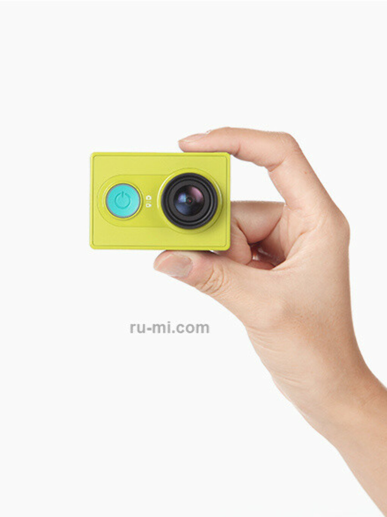 Купить экшн-камеру Xiaomi Yi basic edition (Yi, зеленый ) цена винтернет-магазине
