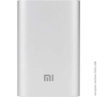 Xiaomi Mi Power Bank 10000 мAч , Silver Original (NDY-02-AN-SL) (Xiaomi Mi Power Bank 10000)