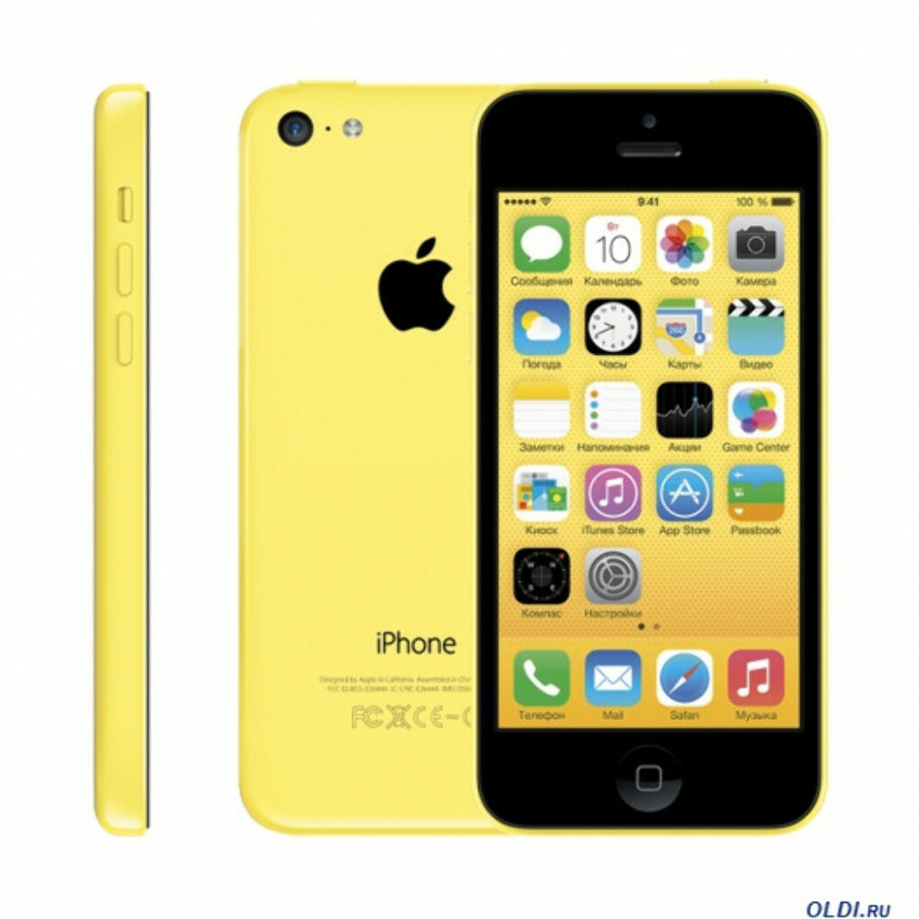 Смартфон Apple iPhone 5c 16GB Yellow