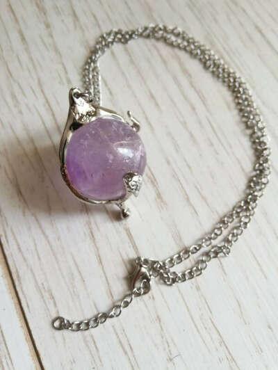 Heart of Condracar Amethyst Necklace