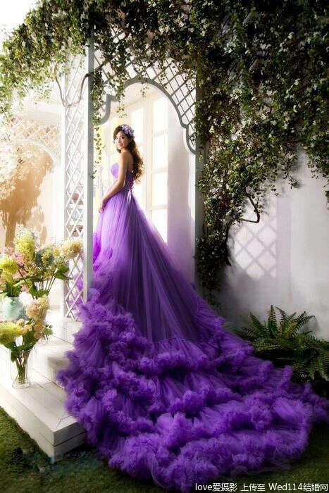 Фотосессию в волшебном платье