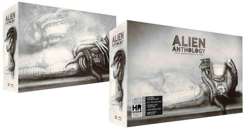 Чужой. Антология. Юбилейное издание (6 Blu-ray)