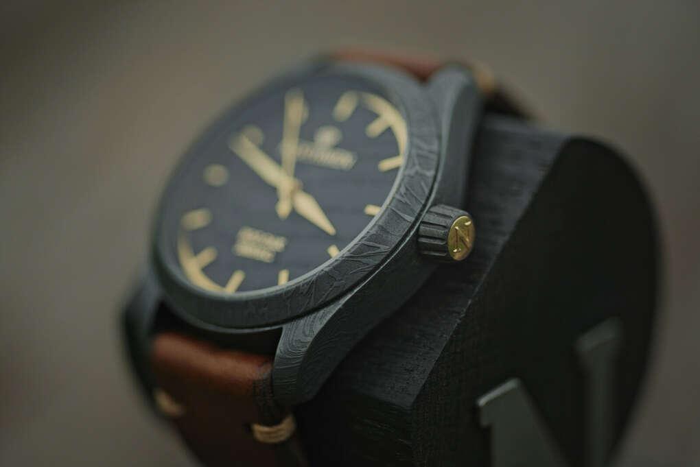 Handforged Northmen Watch. Yellow Gold II