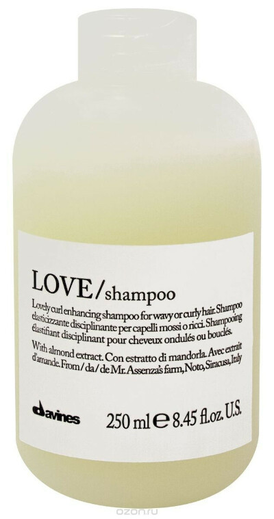 Davines Шампунь для усиления завитка Essential Haircare New Love Lovely Curl Enhancing Shampoo, 250 мл