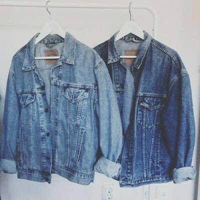 грубая джинсовка