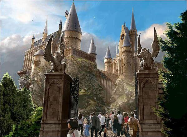 Посетить парк развлечений Гарри Поттера