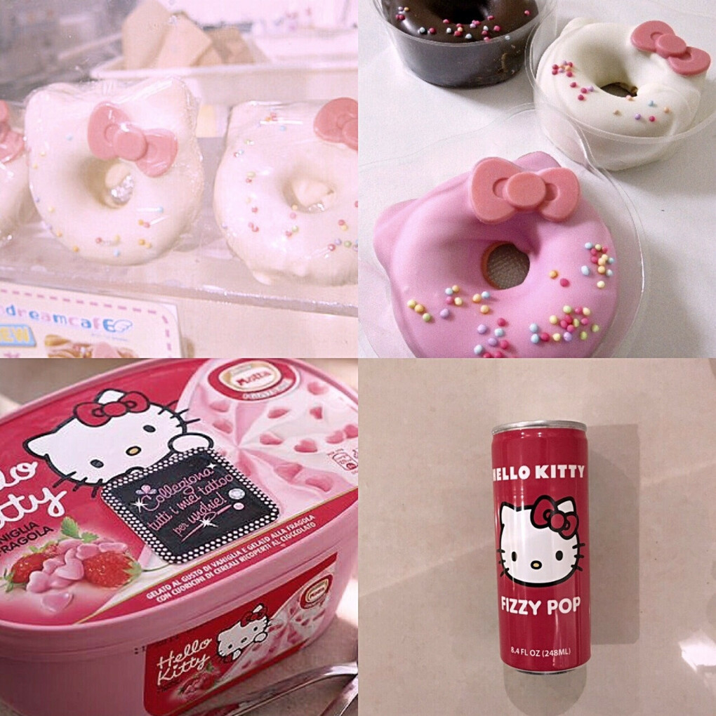 Вкусности с Hello Kitty