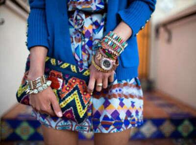 Хочу пошить платье с индейским орнаментом