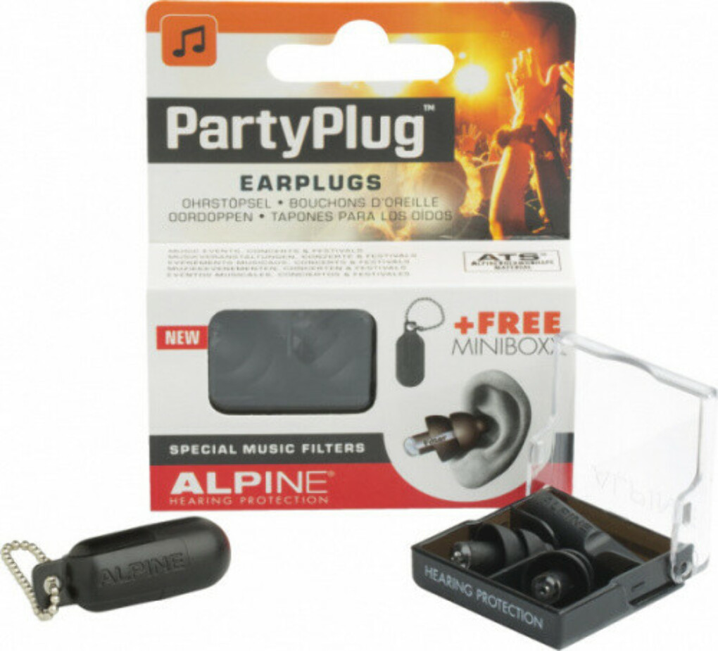 Alpine_PartyPlug_Black