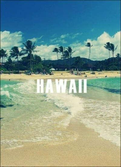 На Гавайи.