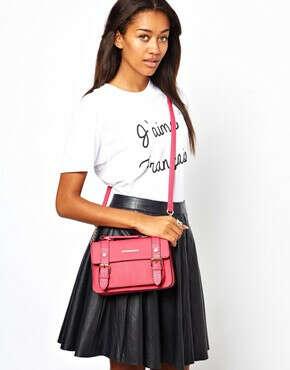 Маленькая сумка-сэтчел через плечо New Look