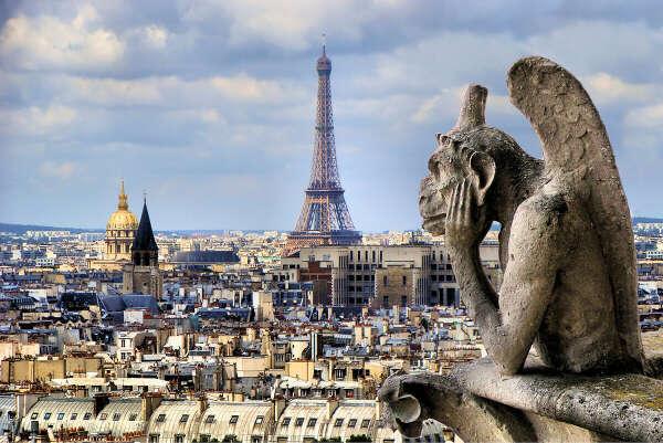 Пожить в Париже