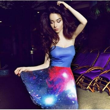 Платье 'Космос'