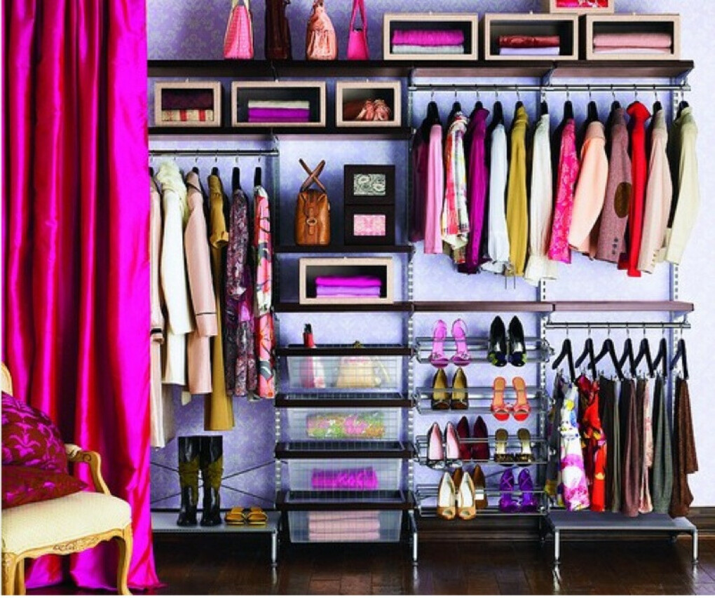 Много одежы