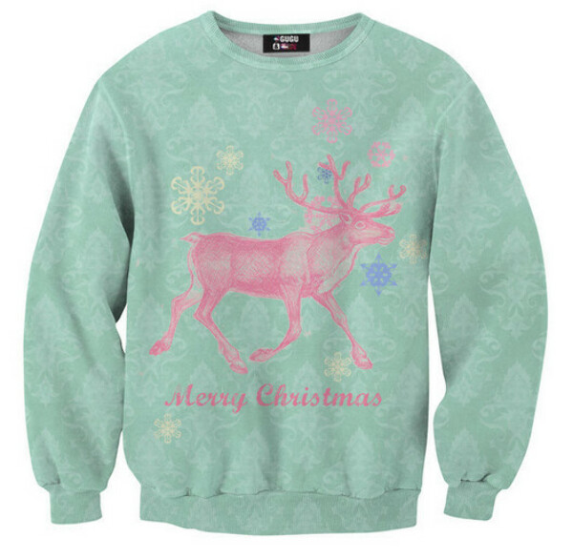 Свитшот Christmas deer sweater  от Mr.Gugu & Miss Go