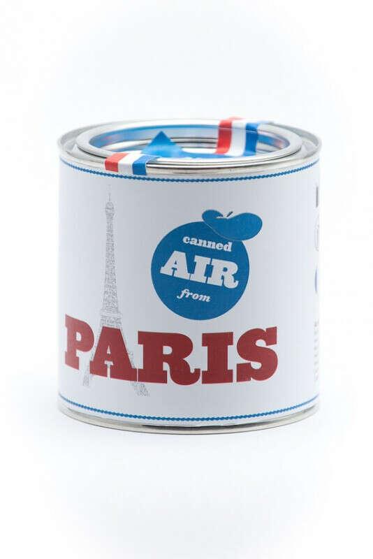 Воздух Парижа в банке