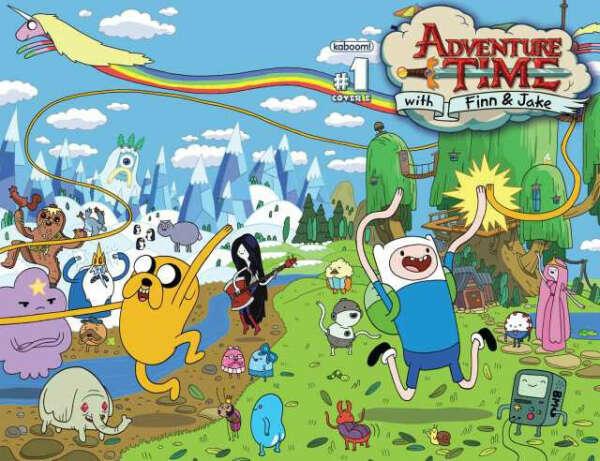 Жить в Adventure Time