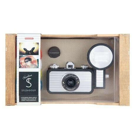 Lomography Фотоаппарат La Sardina & Flash Splendour