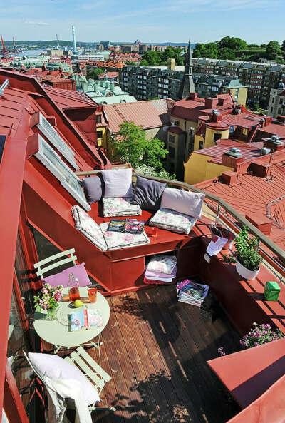 Сделать красивый балкон