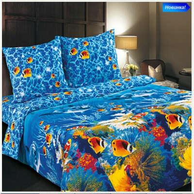 постельное бельё с морской тематикой