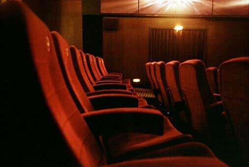 Ночной сеанс в кинотеатре