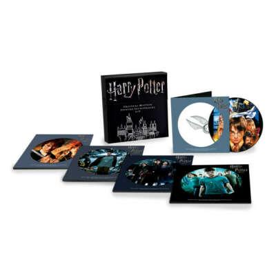 Набор виниловых пластинок с саундреками из всех фильмов Гарри Поттера