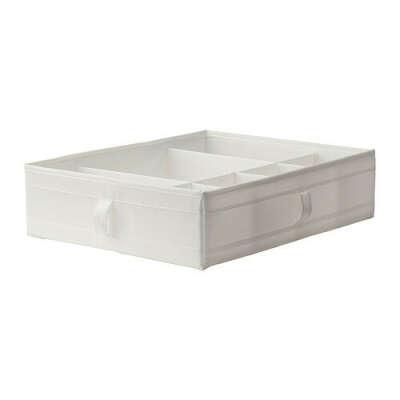 СКУББ Ящик с отделениями - белый  - IKEA