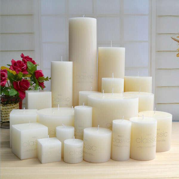 Свечи белые любые
