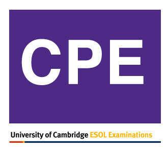 Получить уровень С2 в английском языке (CPE)