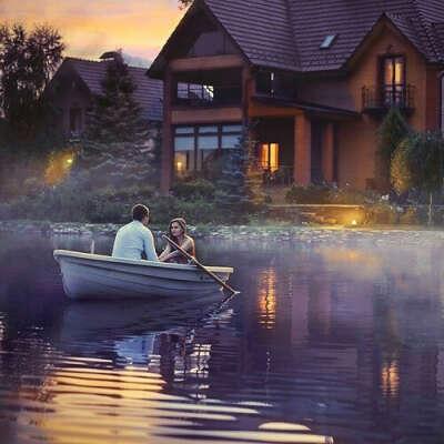 Дачу у озера