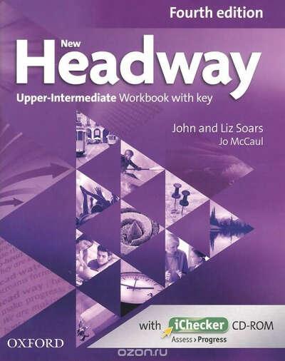 New Headway: Upper-Intermediate: Workbook with Key (+ CD-ROM)